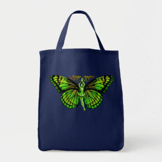 La Fee Verte With Wings Outspread Tote Bag