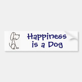 La felicidad AP es pegatina para el parachoques de Pegatina Para Auto