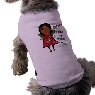 La felicidad crece en su corazón camisetas mascota