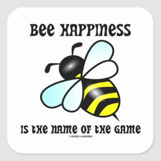 La felicidad de la abeja es el nombre de The Game Colcomanias Cuadradass
