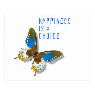 La felicidad de la mariposa es una postal bien esc