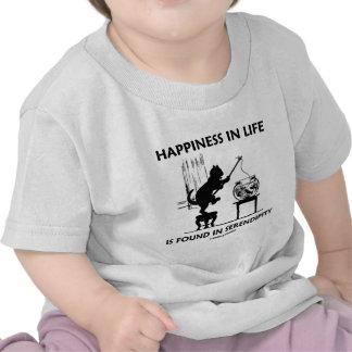 La felicidad en vida se encuentra en la serendipia camiseta