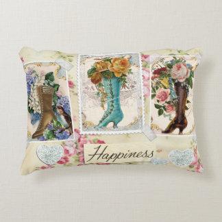 La felicidad es almohada de las botas de Steampunk