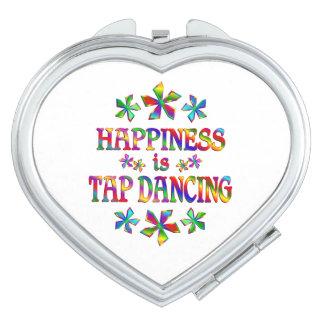 La felicidad es baile de golpecito espejos para el bolso