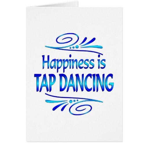 La felicidad es BAILE de GOLPECITO Tarjetas