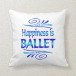 La felicidad es BALLET Almohadas