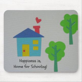 ¡La felicidad es casera para enseñar! Alfombrilla De Raton