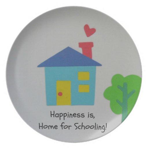 ¡La felicidad es casera para enseñar! Platos De Comidas