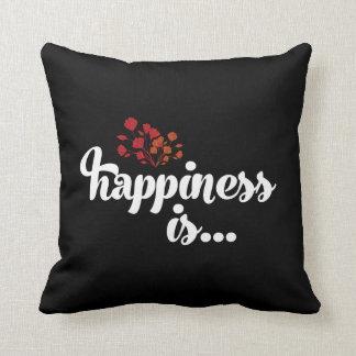 La felicidad es. Conexión auto con la almohada de