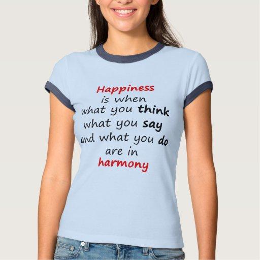 La felicidad es cuando… remera