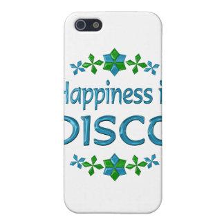 La felicidad es disco iPhone 5 carcasa