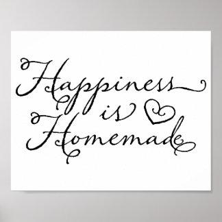 La felicidad es hecha en casa posters