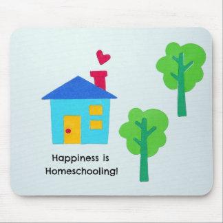 ¡La felicidad es Homeschooling! Tapetes De Ratón
