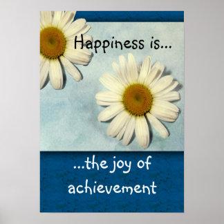 La felicidad es… impresión del logro