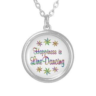 La felicidad es línea baile colgante