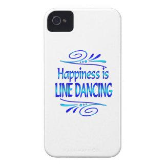 La felicidad es LÍNEA BAILE Case-Mate iPhone 4 Carcasa