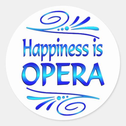 La felicidad es ÓPERA Etiquetas