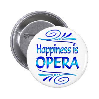 La felicidad es ÓPERA Pin