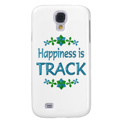La felicidad es pista funda para galaxy s4