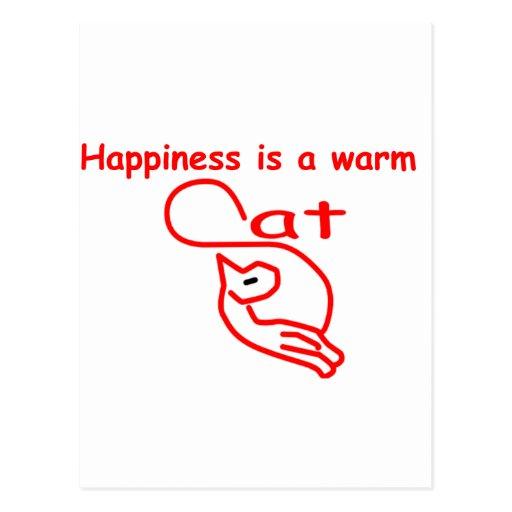 La felicidad es tarjetas postales