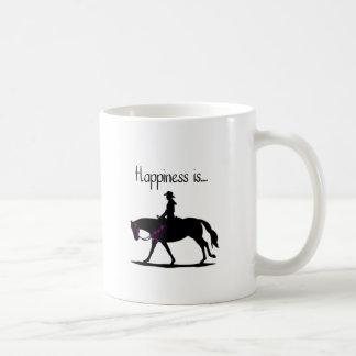 La felicidad es… taza clásica
