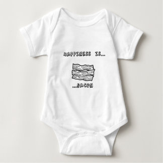 La felicidad es tocino mameluco de bebé