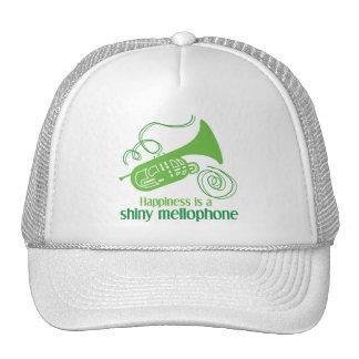 La felicidad es un Mellophone brillante Gorro De Camionero