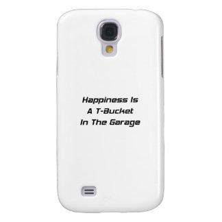 La felicidad es un Tbucket en los regalos de Tbuck Funda Para Galaxy S4