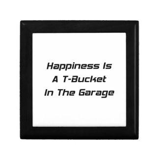 La felicidad es un Tbucket en los regalos de Tbuck Cajas De Joyas