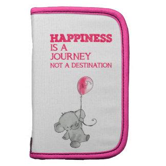 La felicidad es un viaje organizador