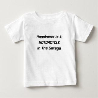La felicidad es una motocicleta en el garaje polera