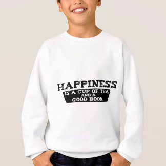 La felicidad es una taza de té y de un buen libro poleras