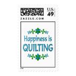 La felicidad está acolchando sellos