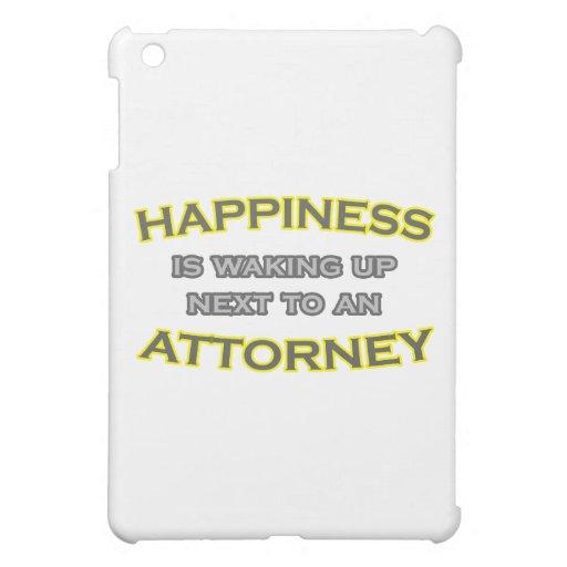 La felicidad está despertando al lado de un abogad