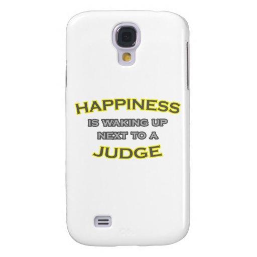 La felicidad está despertando al lado de un juez