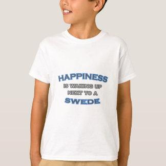 La felicidad está despertando al lado de un sueco playera