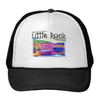 La felicidad está estando en Little Rock Gorras