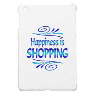 La felicidad ESTÁ HACIENDO COMPRAS iPad Mini Protector