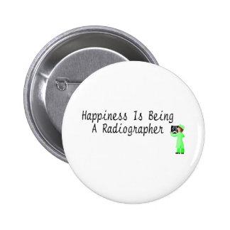 La felicidad está siendo ayudante radiólogo pins