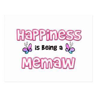 La felicidad está siendo un Memaw Postal