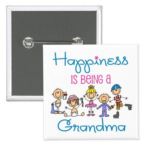 La felicidad está siendo una abuela pin