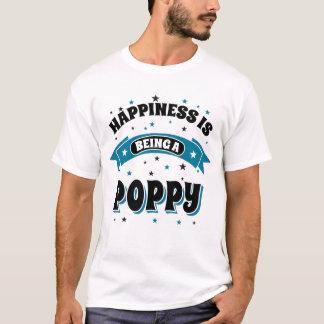 La felicidad está siendo una amapola playera