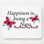La felicidad está siendo una MARIPOSA de Nana Tapetes De Ratones