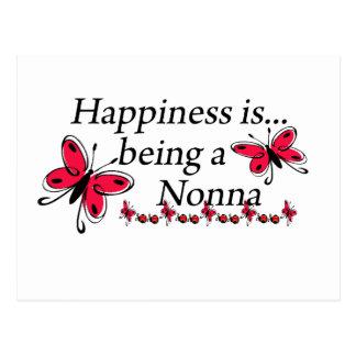La felicidad está siendo una MARIPOSA de Nonna Postal