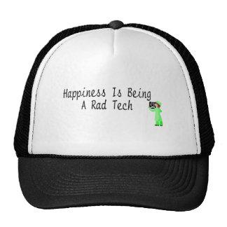 La felicidad está siendo una tecnología del Rad Gorros Bordados