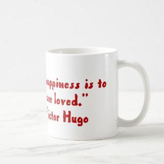 La felicidad más grande de la vida taza