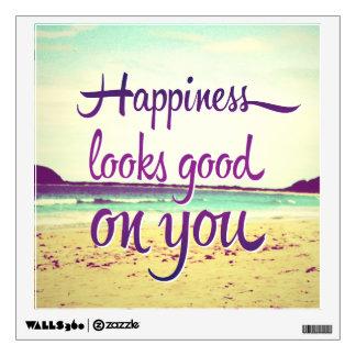 La felicidad parece buena en usted vinilo