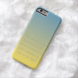 La felicidad puede ser caso encontrado del iPhone Funda Para iPhone 6 Barely There