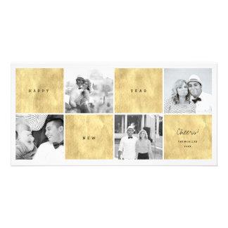 La Feliz Año Nuevo bloquea la tarjeta del día de Tarjetas Personales