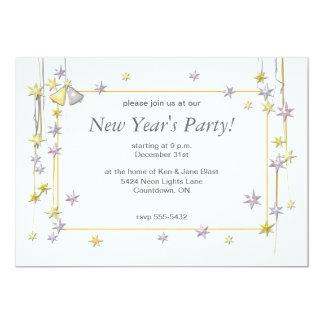 La Feliz Año Nuevo protagoniza blanco Invitacion Personalizada